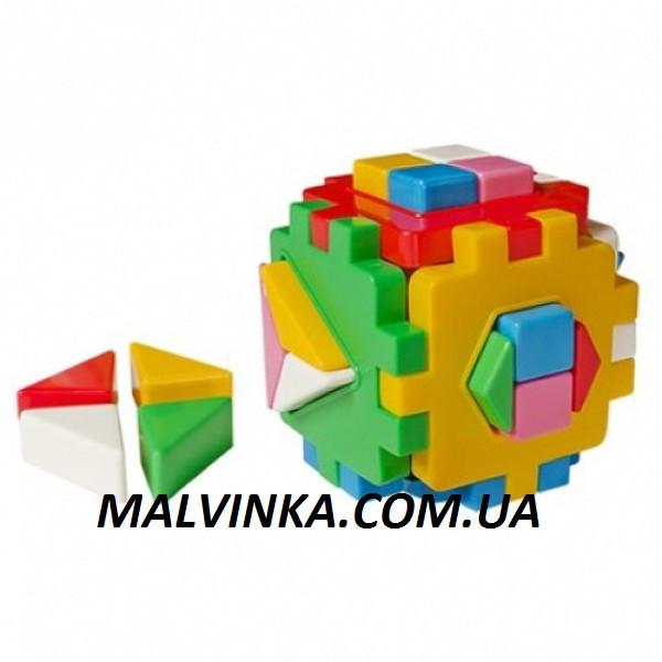 """Куб """"Розумний малюк"""" Логіка 2 12×12×12 см ТехноК 2469"""