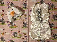 Карнавальный костюм Снеговик атлас