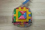 """Куб """"Розумний малюк"""" Логіка 2 12×12×12 см ТехноК 2469, фото 2"""
