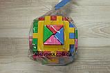 """Куб """"Розумний малюк"""" Логіка 2 12×12×12 см ТехноК 2469, фото 3"""