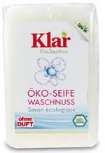 """Органическое мыло """"Мыльный орех"""" для чувствительной кожи Klar , 100 г"""