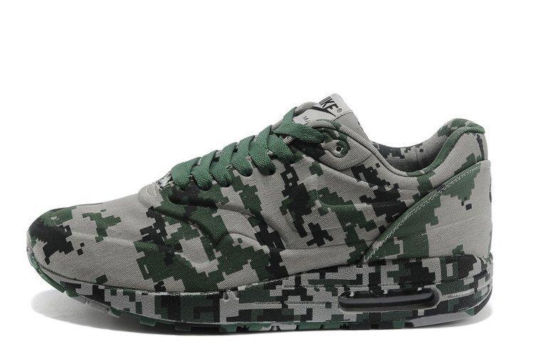 Оригинальные мужские кроссовки Nike Air Max 87 VT Сamouflage 02М | найк аир макс 87 камуфляж 02М