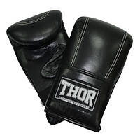 Снарядные перчатки THOR 605 (PU) черные, фото 1
