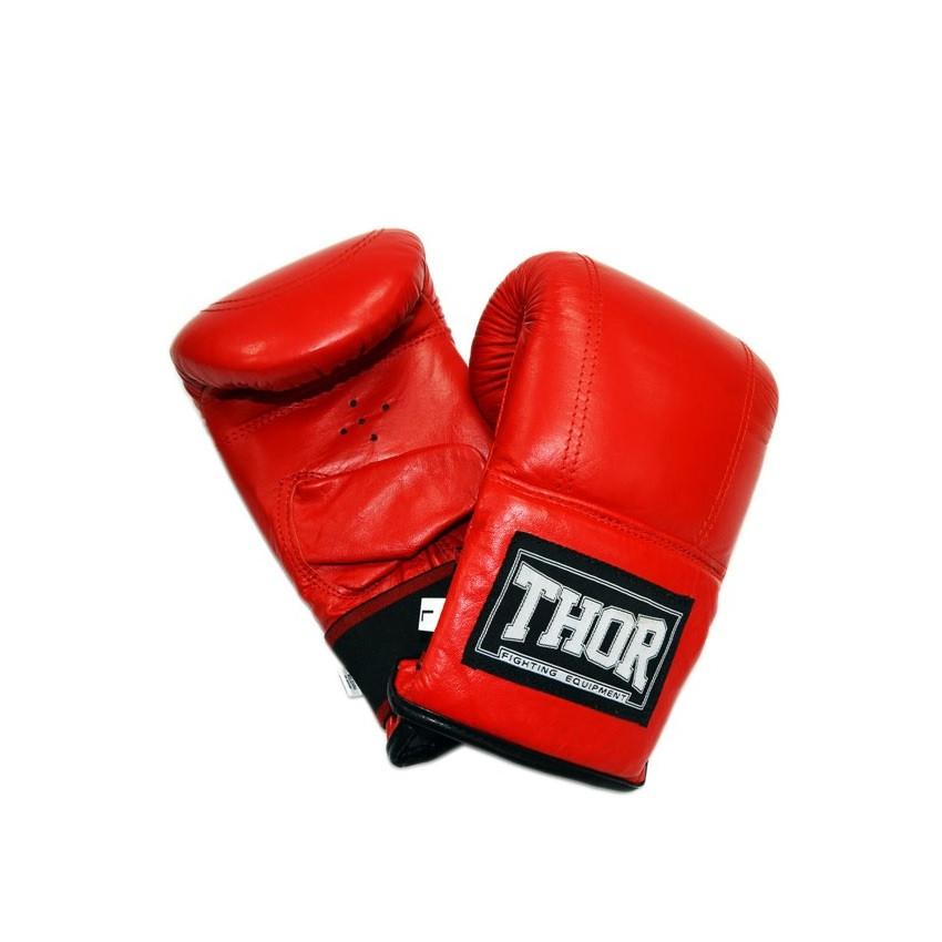 Боксерские перчатки THOR THOR 606 (PU) RED, фото 1