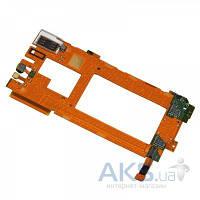 Шлейф для Nokia Lumia 920 межплатный с камерой и SIM-держателем