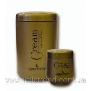 Маска для волос с маслом льна Mask Semi di lino 250 ml Kleral System Италия