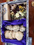 Смачний подарунок у дерев'яному ящику., фото 2