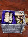 Смачний подарунок у дерев'яному ящику., фото 3