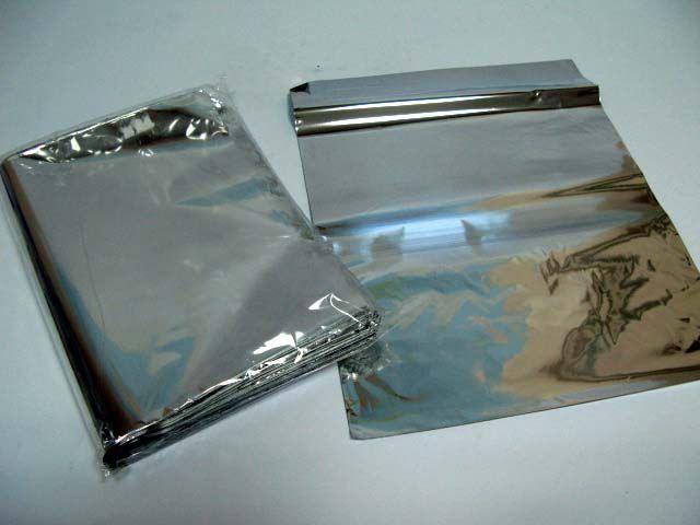 Пакеты гриль фольгированные 20мк 17*25 АлланПак  (100 шт)