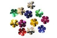 Набор декоративных цветочков, ассорти цветов, 12*12 мм, 10 грамм, Kidis, 8864, 143378