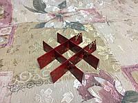Перегородка для конфет Красный снег 120*120*30 - Новый год, фото 1