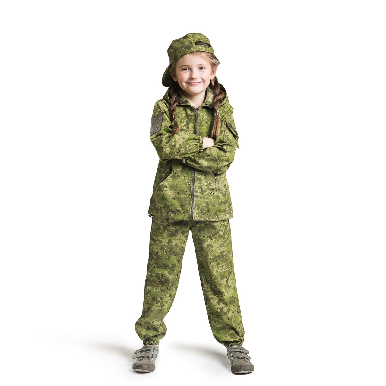 Костюм детский OUTDOOR для активного отдыха Лесоход камуфляж Роса рост 116-122
