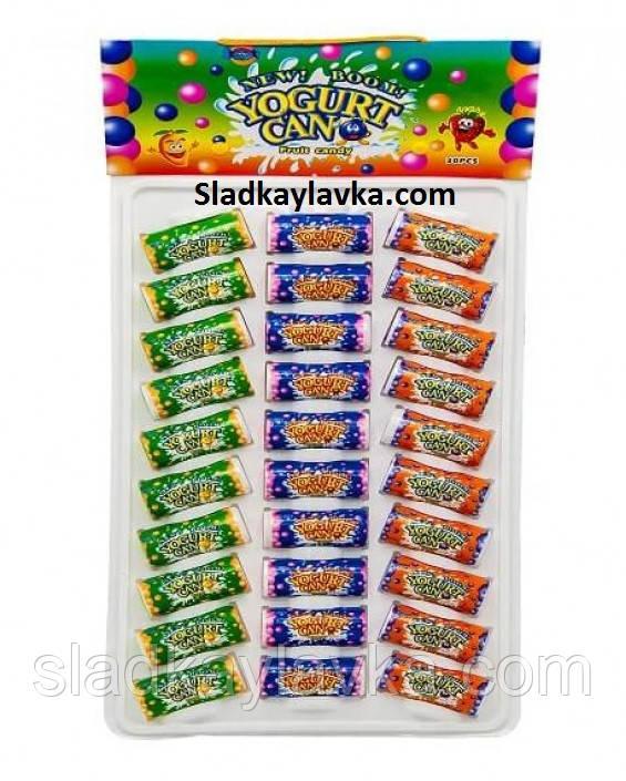 Драже Yogurt candy (банка-блистер) 30 шт (Китай)