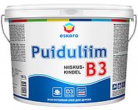Влагостойкий клей Eskaro Puiduliim B3, 10 л