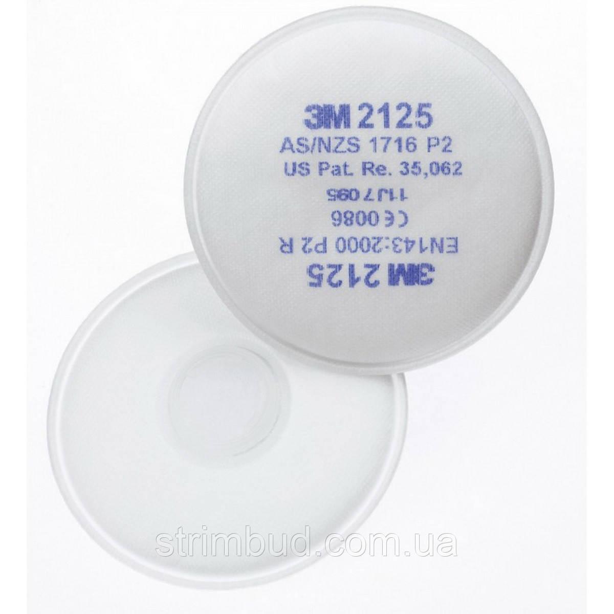 Протиаерозольний фільтр 3М P2 2125 R