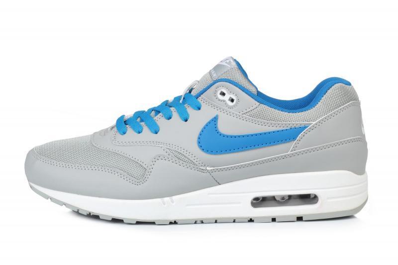 ef1fbb37 Мужские кроссовки Nike Air Max 1 Ultra Grey Blue | найк аир макс 87 серые -