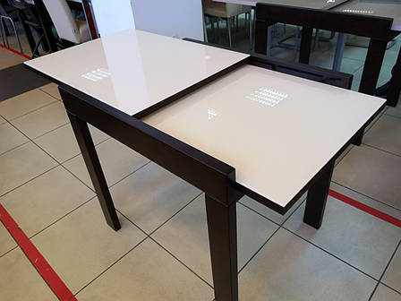 Стол-трансформер Слайдер 815 + стекло (ассортимент цветов), фото 2