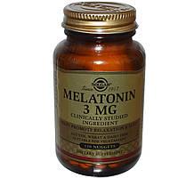 Мелатонин, Solgar (Солгар), 3 мг, 120 жевательных таблеток