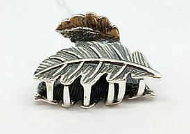 Серебряная заколка для волос. Артикул 9308