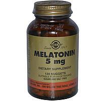 Мелатонин, Solgar (Солгар), 5 мг, 120 жевательных таблеток