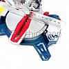 Торцовочная пила Boxer BX-2074, стусло без протяжки, поворотная торцевая пила, торцовка по дереву, фото 5