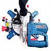 Торцовочная пила Boxer BX-2074, стусло без протяжки, поворотная торцевая пила, торцовка по дереву, фото 7