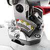 Торцовочная пила Boxer BX-2074, стусло без протяжки, поворотная торцевая пила, торцовка по дереву, фото 8
