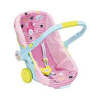 Кресло-каталка для куклы BABY BORN - УДОБНОЕ ПУТЕШЕСТВИЕ ТМ Zapf 824412, фото 1