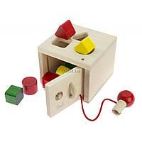 Развивающая игрушка nic cортер деревянный Сейф (NIC64558)