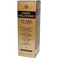 Мелатонин, Solgar (Солгар), жидкий, 10 мг, 50 мл.
