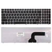 Клавиатура для ноутбука Asus (K52) Black, (Silver Frame) RU Asus A50, A70, B50, F50, G50, G60, G70, K50, K70,