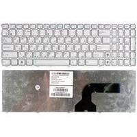 Клавиатура для ноутбука Asus (K52) White, (White Frame) RU Asus A50, A70, B50, F50, G50, G60, G70, K50, K70,
