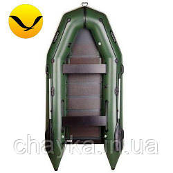 Надувная лодка Барк БТ-330 (Bark BT-330); 4-х местная. Моторная ПВХ лодка;