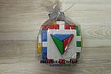 """Куб """"Розумний малюк"""" Логіка 2 12×12×12 см ТехноК 2469, фото 5"""