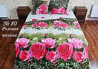Півтораспальний постільний комплект - Галявина троянд