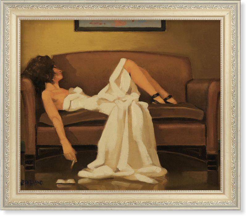 Репродукція сучасної картини Джека Веттріано (Великобританія) «Після...»