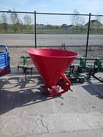 Разбрасыватель РУМ 300л (пластиковый) для песка и соли