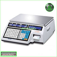 Весы для печати этикетки CAS CL5000J-IB 30 кг