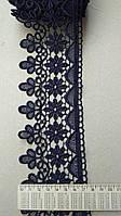 Кружево Турция цветок одностороннее, фото 1