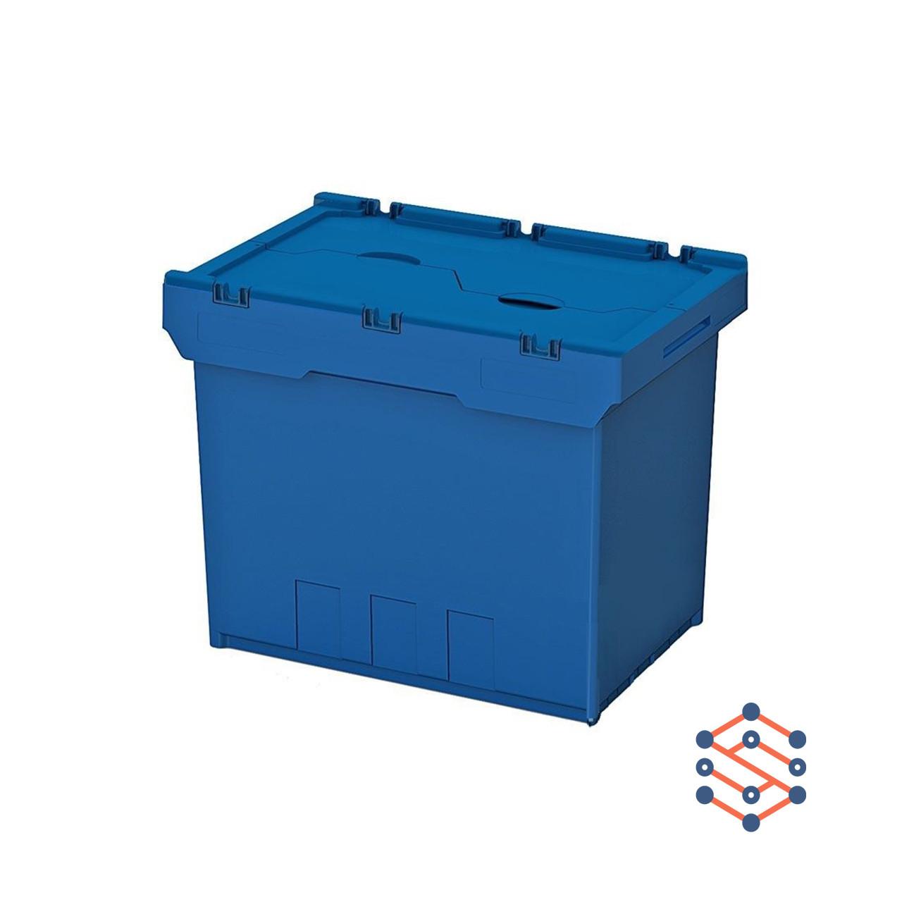 Вкладываемый контейнер Instore (6442) 600х400х420 мм с крышкой LF64