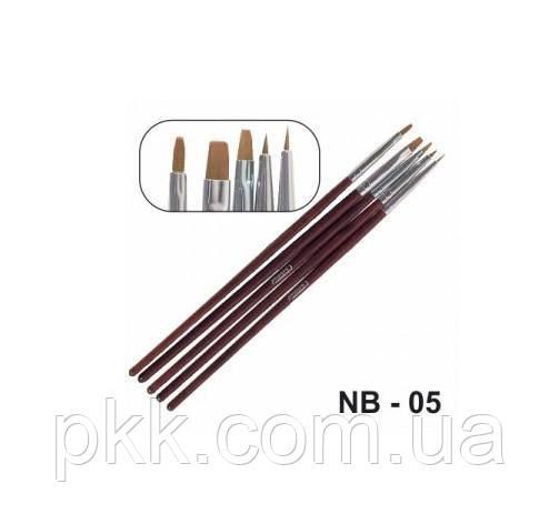 Набор кисточек CHRISTIAN для дизайна NB-05