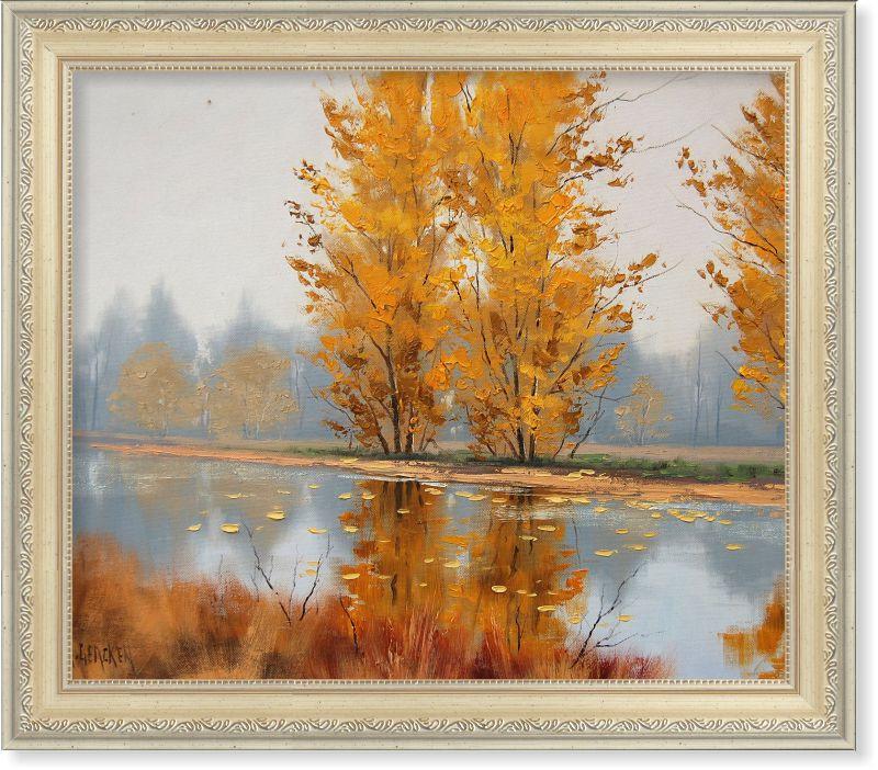 Репродукція сучасної картини «Осінній пейзаж»