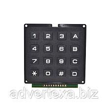 Модуль матричной клавиатуры 4x4 для Arduino, Raspberry PI.