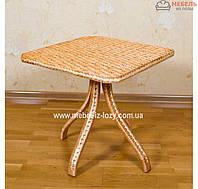 """Плетеный стол """"Стандарт""""  из лозы"""