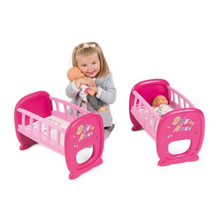 Кроватка для двух кукол Baby Nurse Smoby 220329, фото 2