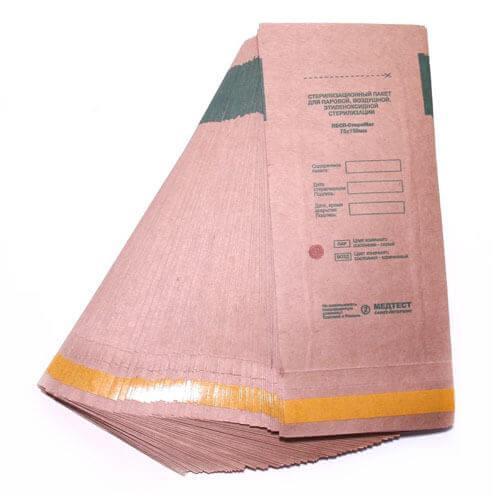 Крафт-пакеты для стерилизации  100*200, 100шт