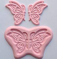 Силиконовый молд бабочка, фото 1