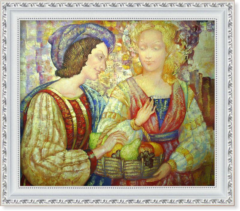 Репродукція сучасної картини «Фрукти, моя повелителька»