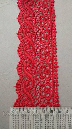 Кружево плетенка цветы одностороннее, фото 2