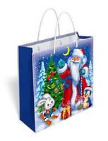 """Пакет подарочный 16,5 х 17 см.""""Дед Мороз"""" 35.023"""